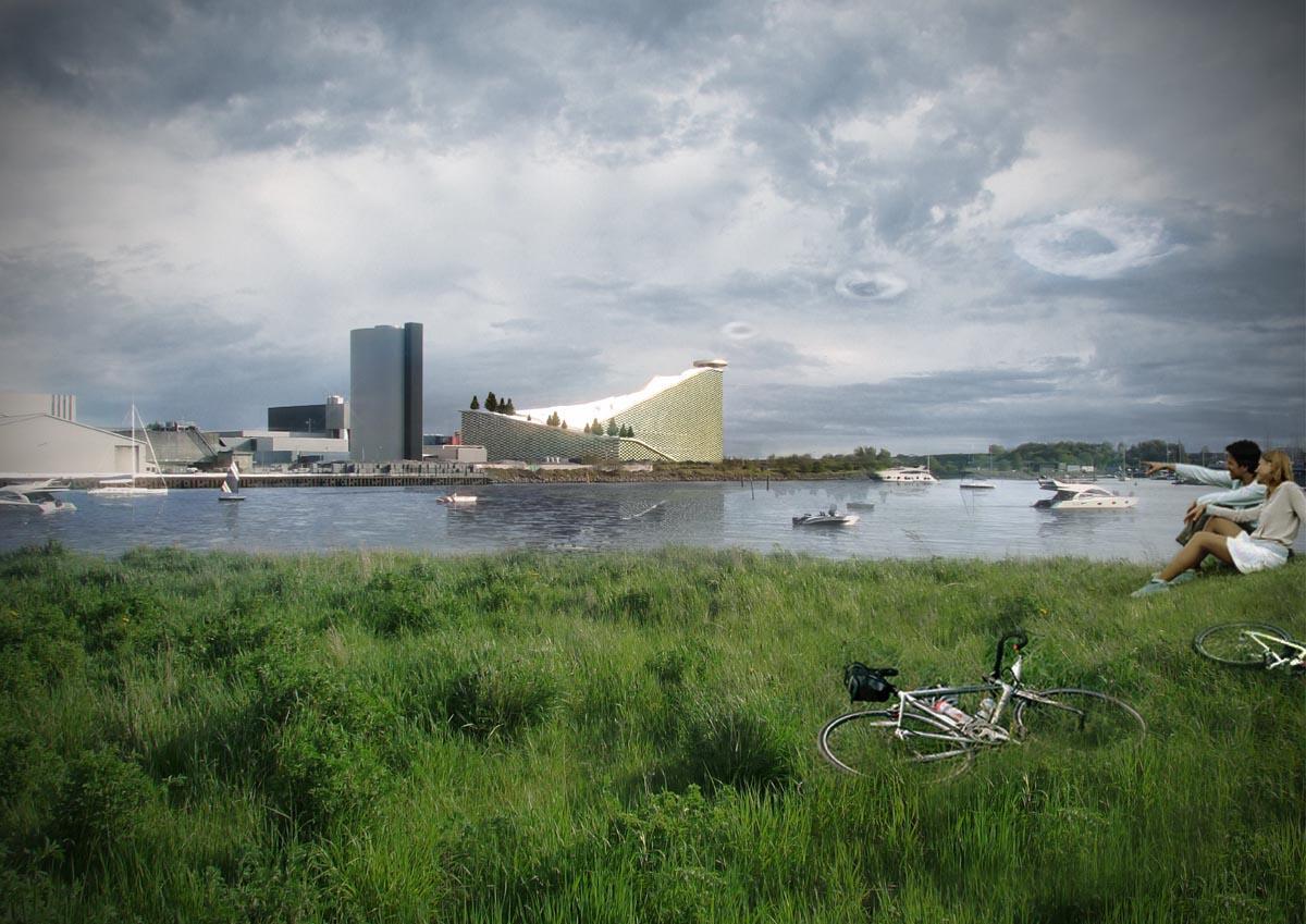 Big - New waste energy plant - Copenhagen