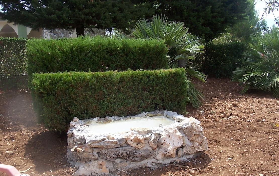 Vasche da giardino in pietra vasca in pietra t diam est d - Vasche in pietra da giardino ...
